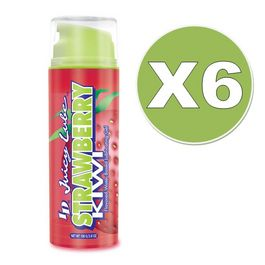 ID JUICY LUBRICANTE FRESAS & KIWI  108ML PACK 6UDS