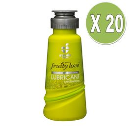 FRUITY LOVE LUBRICANTE CACTUS Y LIMON 100 ML / PACK 20 UDS