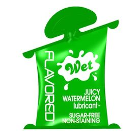 WET FLAVORED LUBRICANTE SANDIA 10ML