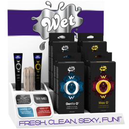 WET® WOW COUNTER TOP DISPLAY