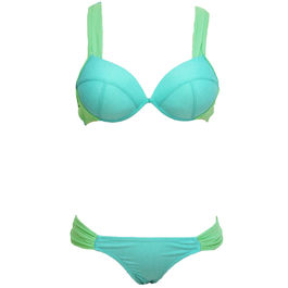 QUEEN SUMMER BIKINI BLUE LIGHT TALLA M