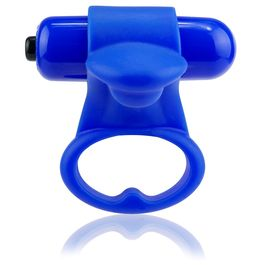 ANILLO VIBRADOR SCREAMING O YOU TURN - BLUEBERRY