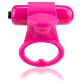 ANILLO VIBRADOR SCREAMING O YOU TURN - STRAWBERRY