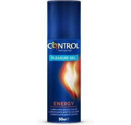 CONTROL PLEASURE GEL ENERGY 50ML