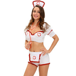 QUEEN COSTUME ENFERMERA SEXY 3 PCS M