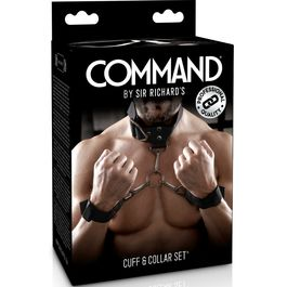 SIR RICHARDS COMMAND SET DE ESPOSAS CON COLLARIN