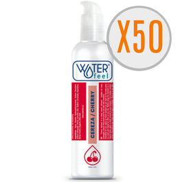 WATERFEEL LUBRICANTE CEREZA 150ML PACK 50 UDS