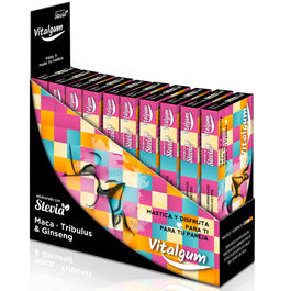 VITALGUM PASSION CHICLE VIGORIZANTE PACK 12 ( CON 10 CHICLES)