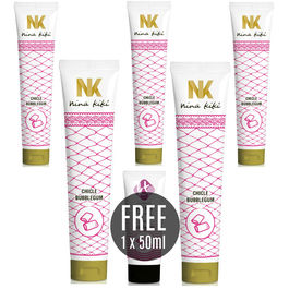 NINA KIKÍ LUBRICANTE SABOR A CHICLE 125ML 5 + 1 KIKI TRAVEL GRATIS
