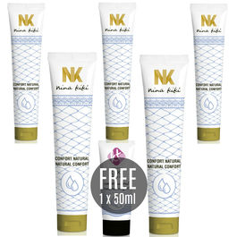 NINA KIKÍ LUBRICANTE NATURAL CONFORT 125ML 5 + KIKI TRAVEL  GRATIS