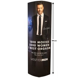 SATISFYER MEN WALL CARTON 184CM