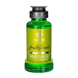 FRUITY LOVE ACEITE MASAJE EFECTOR CALOR 100 ML CAPTUS/LIMA SWEDE